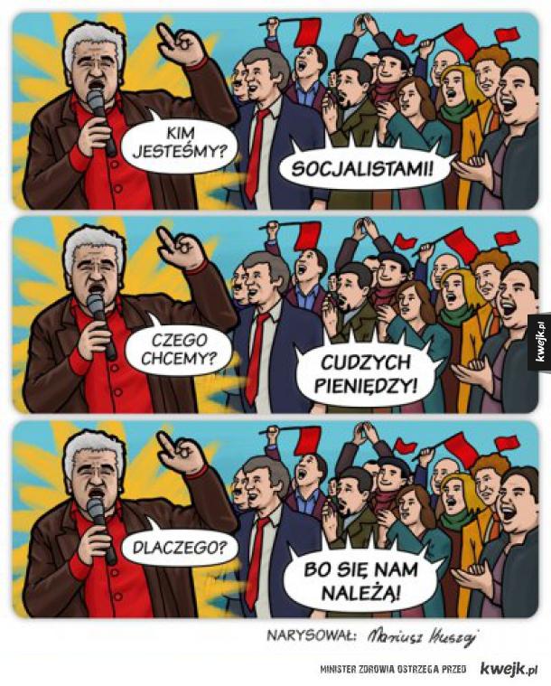 Socjaliści.