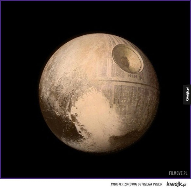 That's no Pluto. It's a space station.