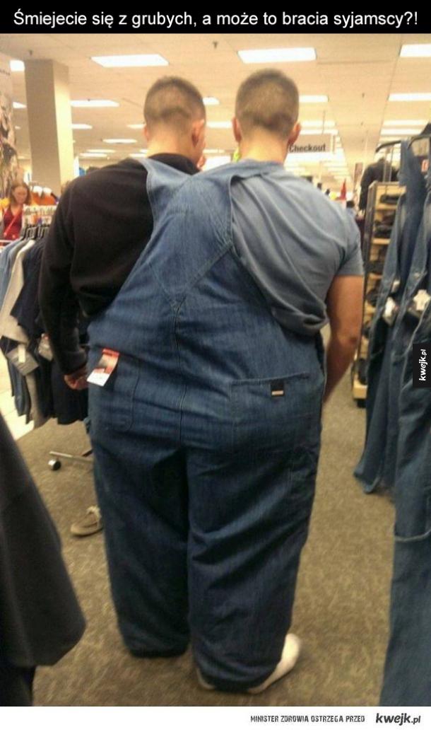 Ubrania dla grubych ludzi