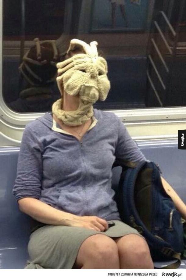 Obcy w metrze