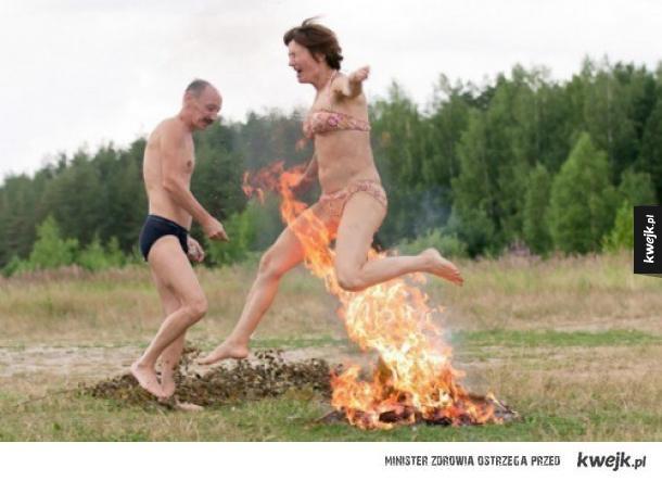 Rosjanie publikują swoje zdjęcia z wakacji...