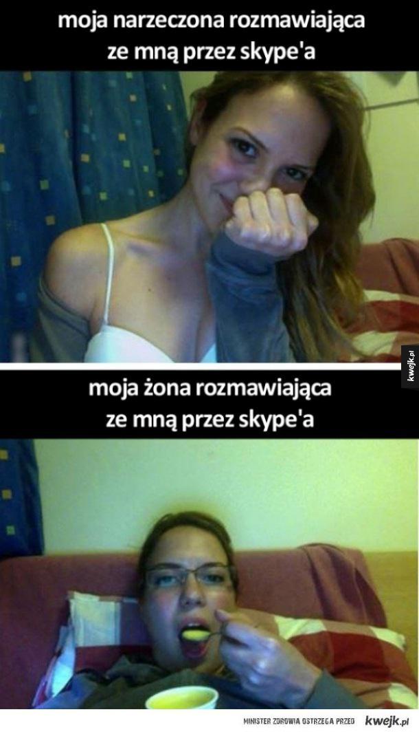 Rozmowa na skype