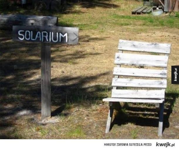 Naturalne solarium