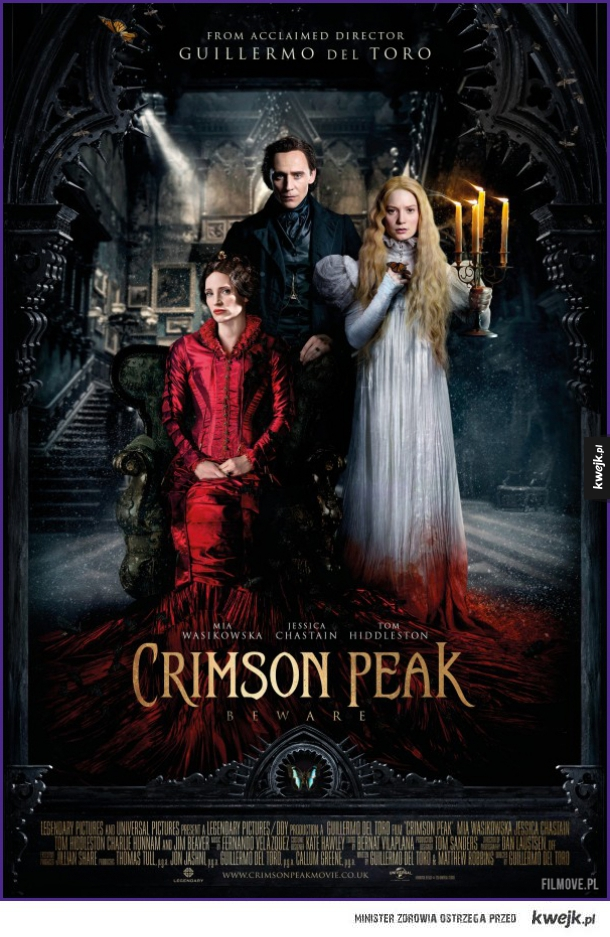 Nowy plakat Crimson Peak