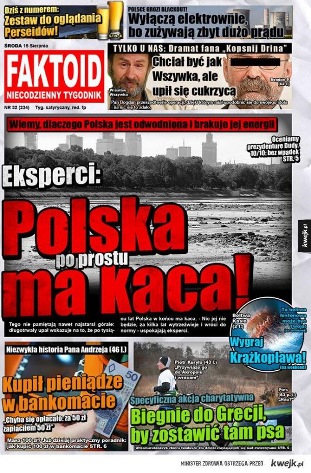 Polska ma kaca!