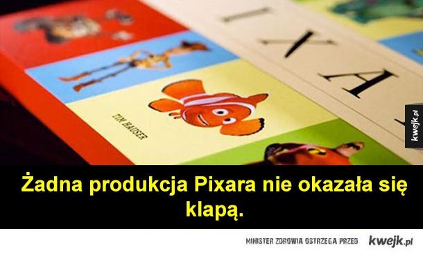 Żadna produkcja Pixara nie okazała się klapą.