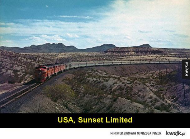 Najpiękniejsze trasy pociągów z całego świata