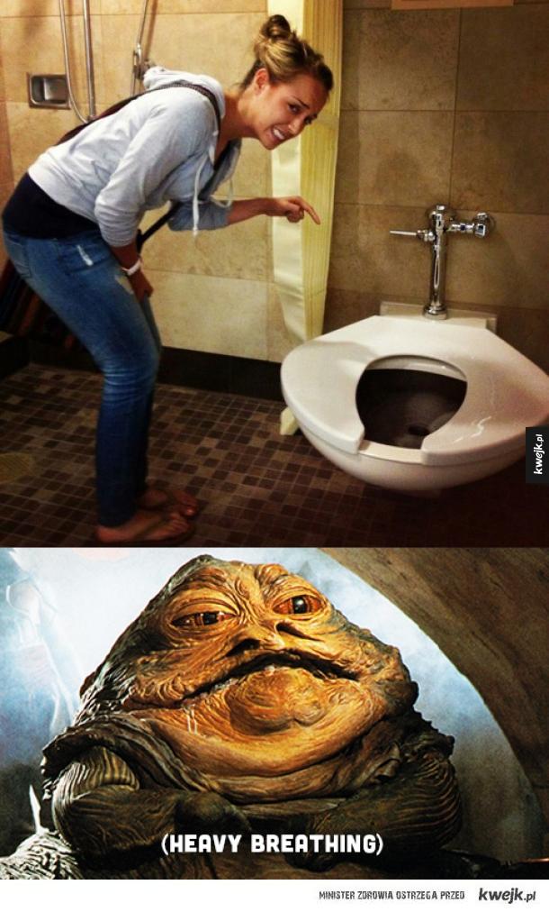 Amerykańskie toalety...