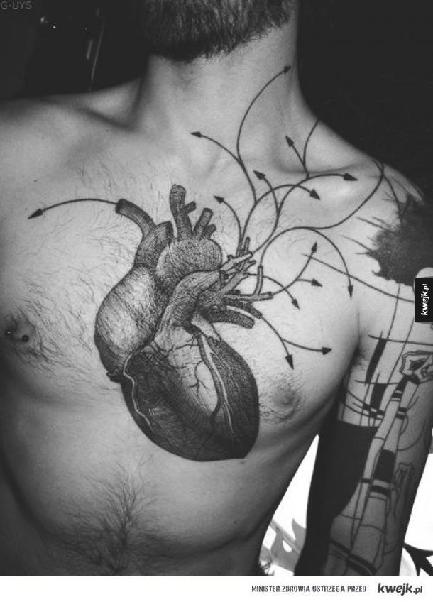 idealny tatuaż.