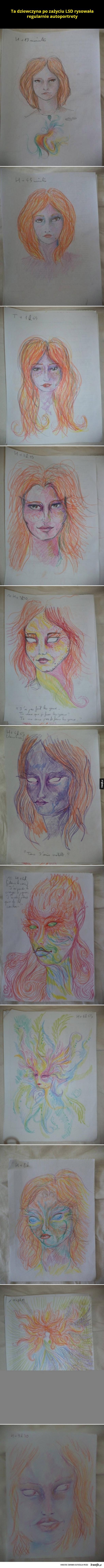 Autoportrety po LSD
