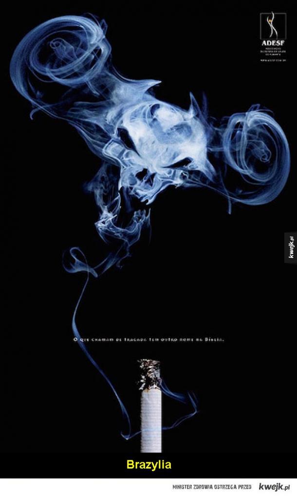 Kampanie antynikotynowe z całego świata