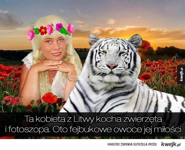 Bardzo niepokojący Fejsbukowy profil pewnej Litwinki...