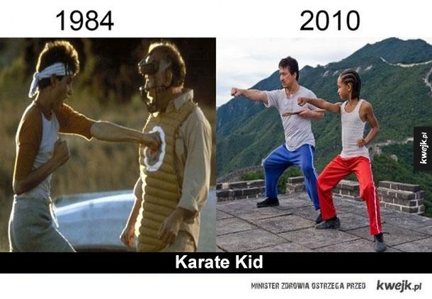 robocop, karate kid, wojownicze żółwie ninja, ring, krzyk, godzilla, king kong