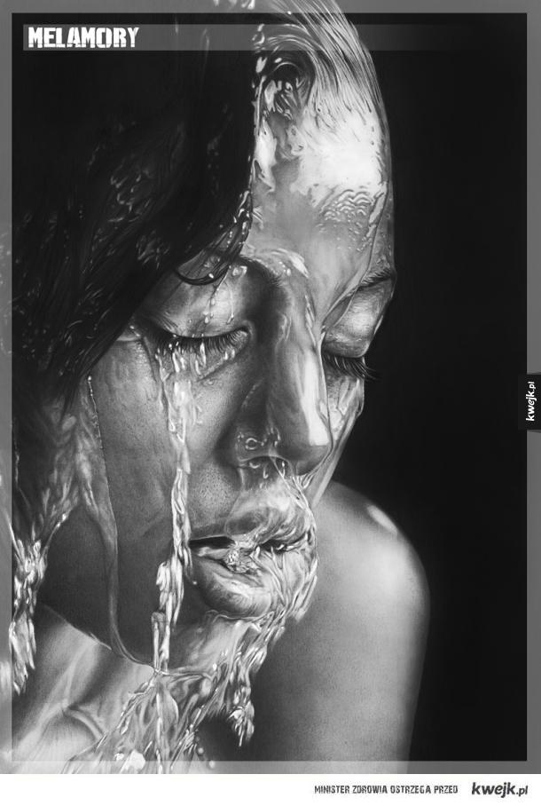 Fotorealistyczne rysunki Olgi Melamory Larionovej