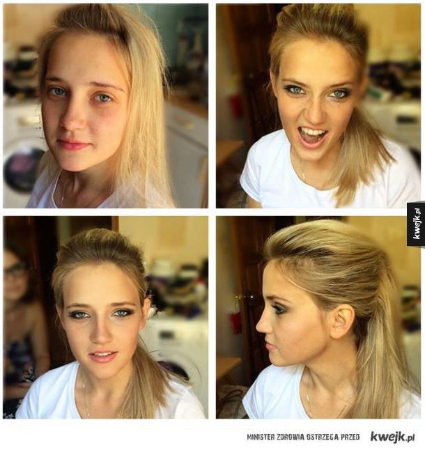 Siła makijazu
