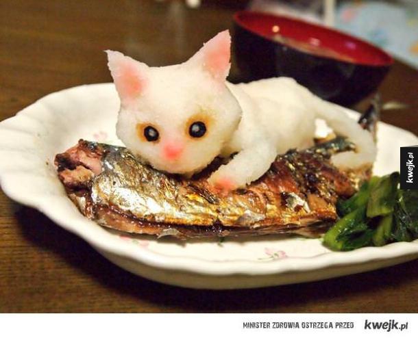 Kreatywne japońskie potrawy