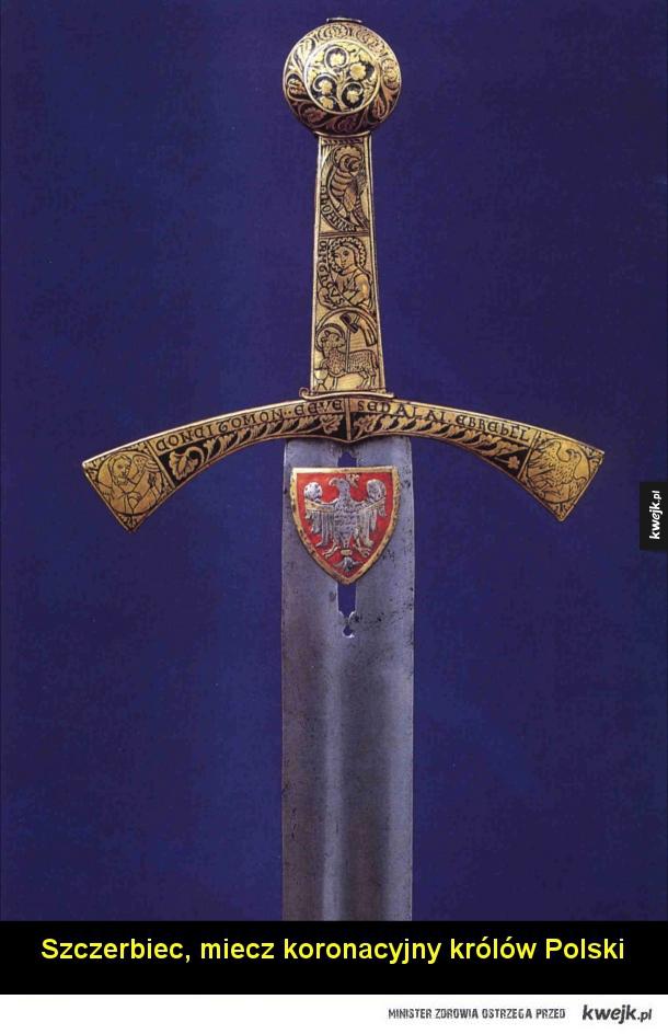 Broń biała z całego świata - Szabla Napoleona Bonaparte  Katana podarowana królowi Zjednoczonego Królestwa Wielkiej Brytanii i Irlandii, Jerzemu V.  Brytyjski spadroon (rodzaj lekkiego miecza) z 1796 roku  Miecz Jerzego V  Szamszir, czyli szabla perska o ostrym zakończeniu głowni.  Sz