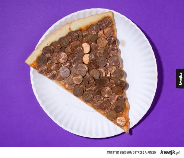 Pizza z hajsem. Smacznego