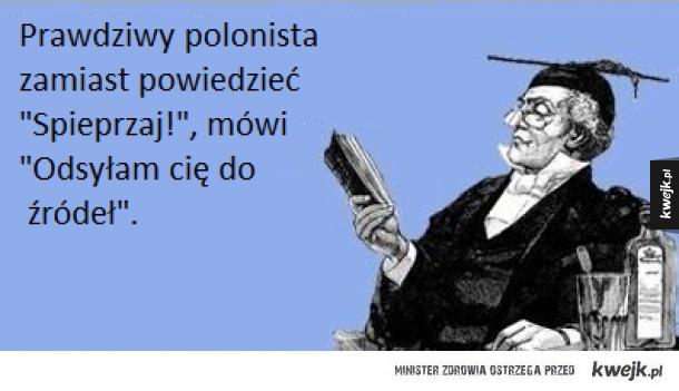 Polonistyczne żarty...