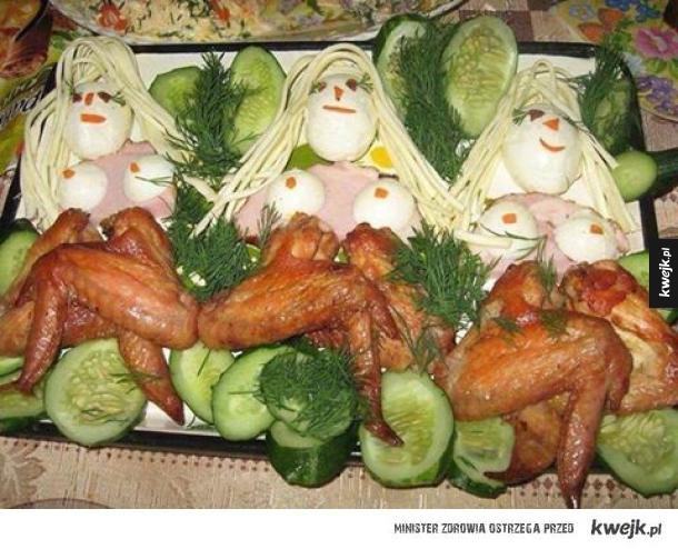 Rosyjska sztuka przyozdabiania  potraw