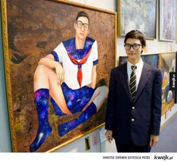 duma młodego artysty ze swojego największego dzieła