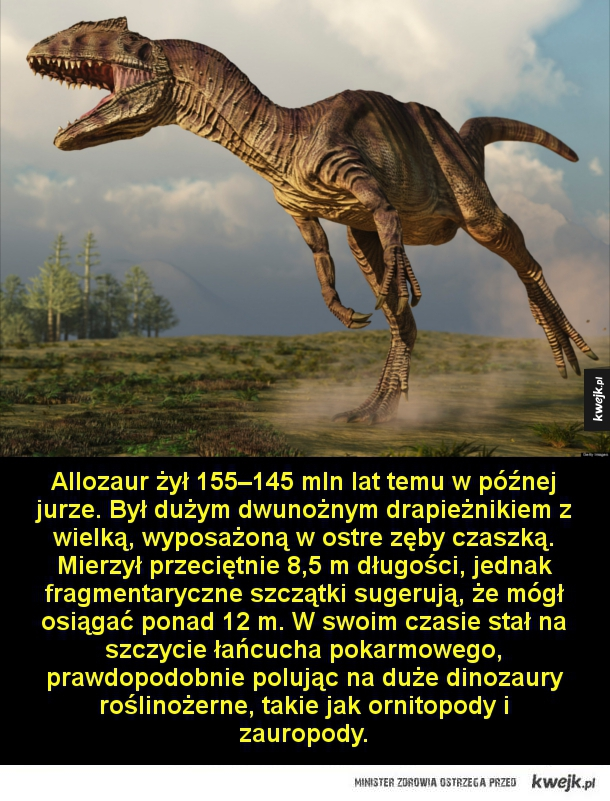 Najgroźniejsze dinozaury, jakie kiedykolwiek chodziły po Ziemi