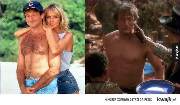 Robin Williams wiele poświęcił dla roli w Piotrusiu Panie :>