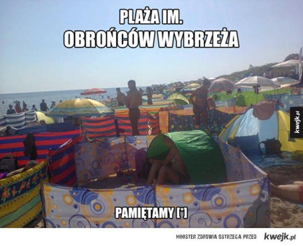 Polskie plaże...