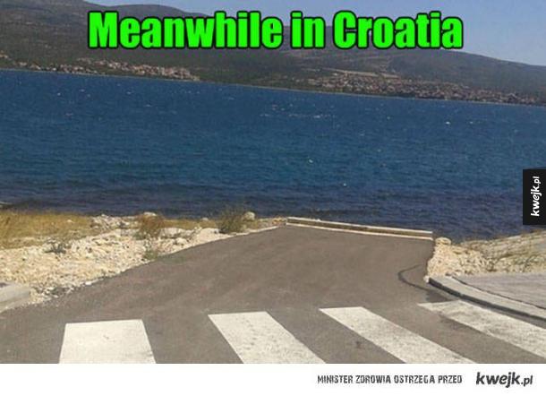Chorwaci się bawią