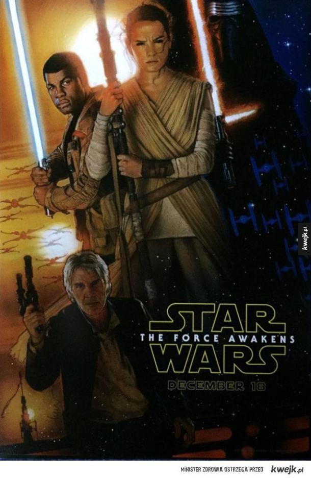 Oficjalny Plakat Gwiezdnych Wojen Ministerstwo śmiesznych