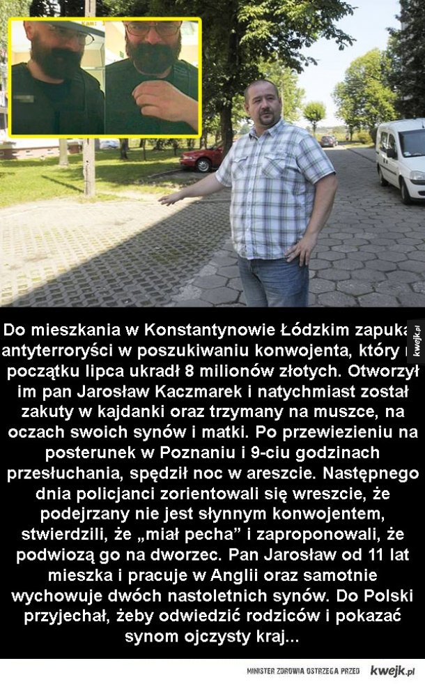 Kolejna wspaniała akcja polskiej policji...