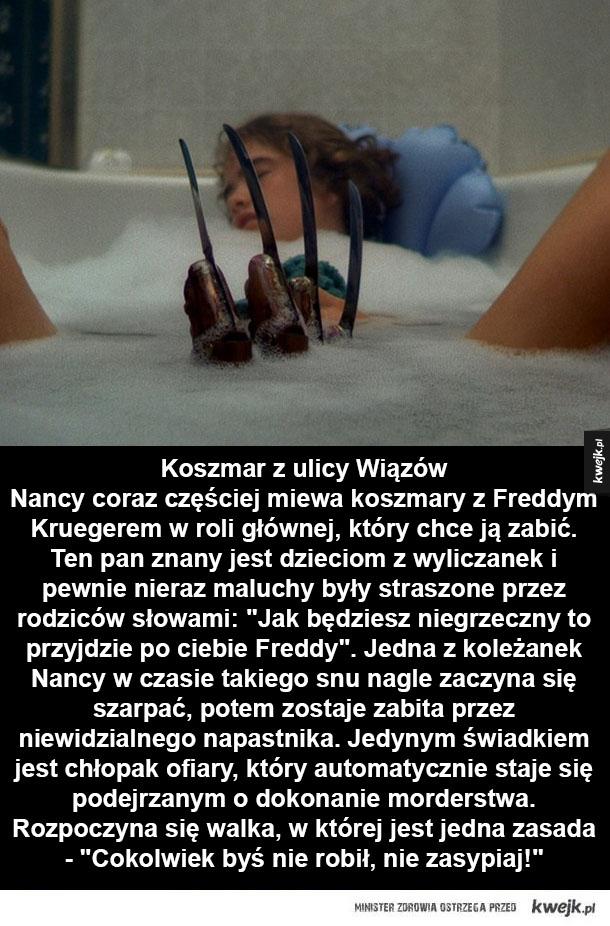 Filmy Wesa Cravena, które warto znać - Koszmar z ulicy Wiązów, Potwór z bagien, Przyjaźń na śmierć i życie, W mroku pod schodami, Krzyk