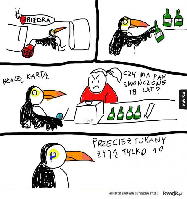 Biedne Tukany