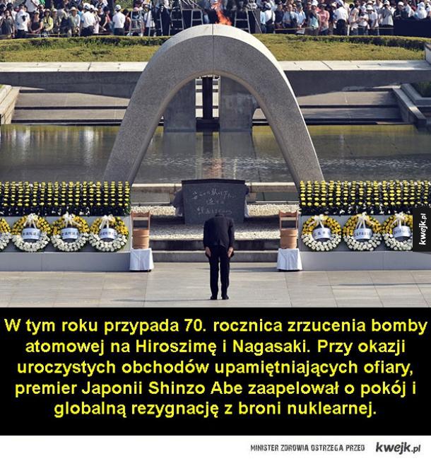 Kilka faktów o ataku nuklearnym na Hiroszimę i Nagasaki