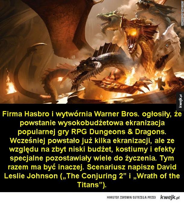Film na podstawie popularnego RPG