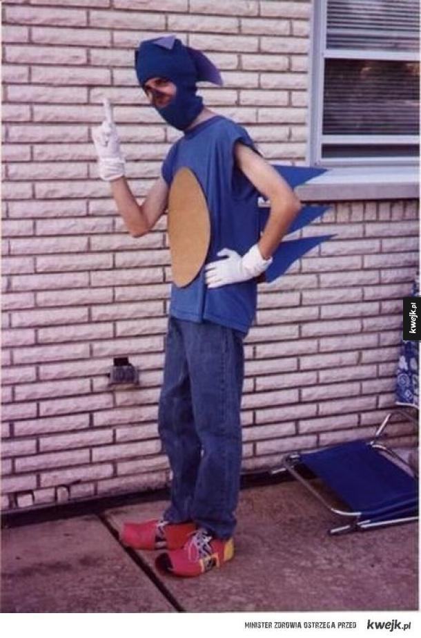 Genialny Cosplay Sonica