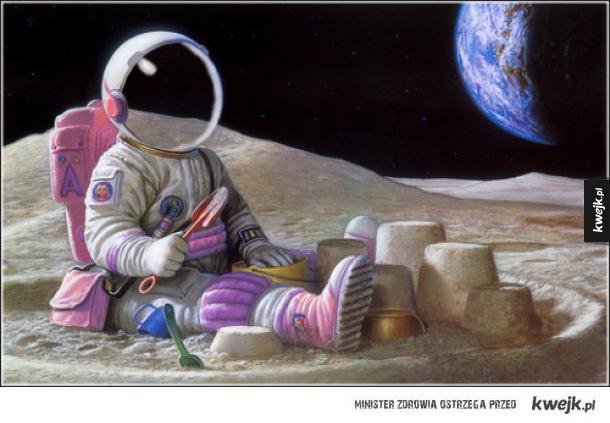 Jak wyobrażam sobie siebie w kosmosie