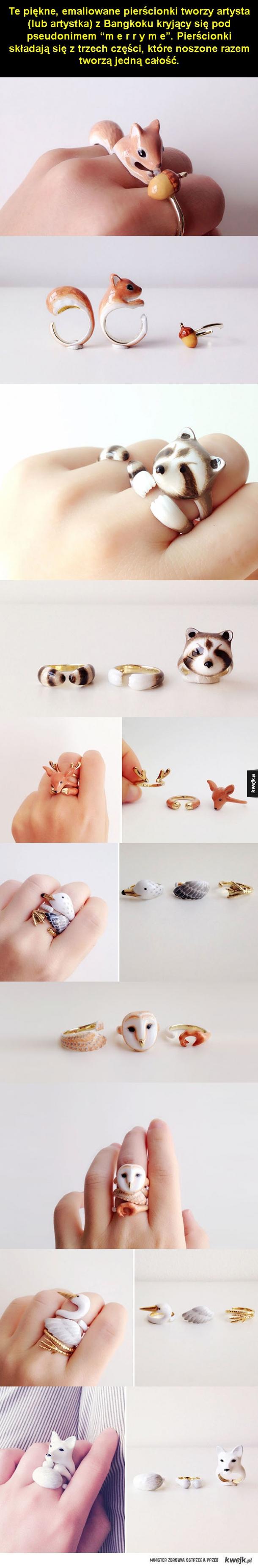 Urocza i kreatywna biżuteria