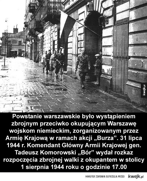 Powstanie warszawskie 1944 - Na skutek porażki poniesionej 1 sierpnia siły powstańcze znalazły się w skrajnie niekorzystnym położeniu. W tej trudnej sytuacji na korzyść strony polskiej nadal przemawiały jednak dwa czynniki. Pierwszym z nich była stosunkowo bierna postawa niemieckiego