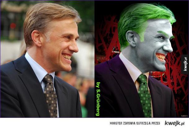 Christoph Waltz jako Joker