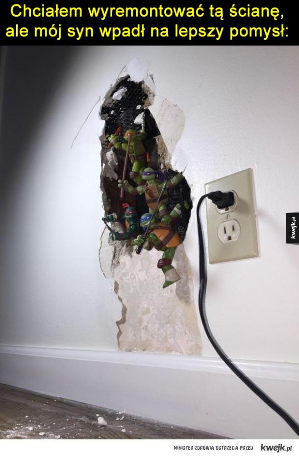 Dziura w ścianie