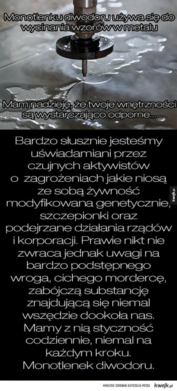 Monotlenek Diwodoru - podstępny zabójca