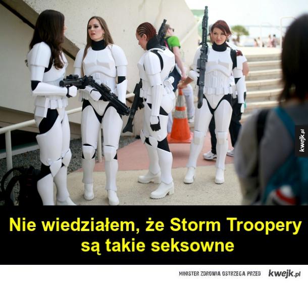 Seksowne Storm Trooperki