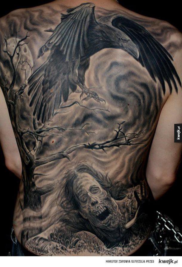 Odważne Tatuaże Na Całe Plecy Galeria Kwejkpl