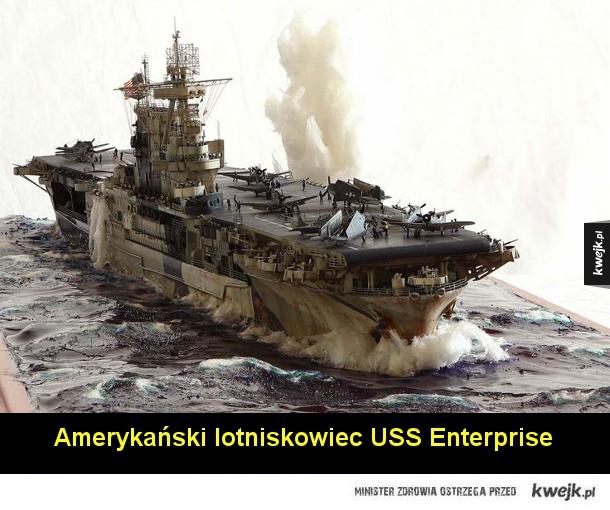 Dioramy i modele historycznych okrętów wojennych