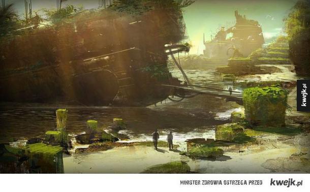 Grafiki koncepcyjne do serii Mass Effect