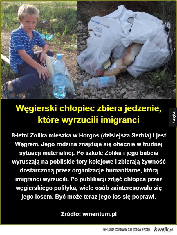 8-letni Zolika mieszka w Horgos (dzisiejsza Serbia) i jest Węgrem. Jego rodzina znajduje się obecnie w trudnej sytuacji materialnej. Po szkole Zolika i jego babcia wyruszają na pobliskie tory kolejowe i zbierają żywność dostarczoną przez organizacje humani
