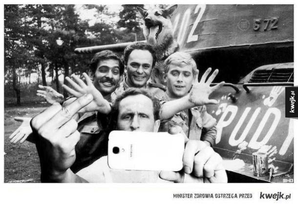 Selfie z Rudym
