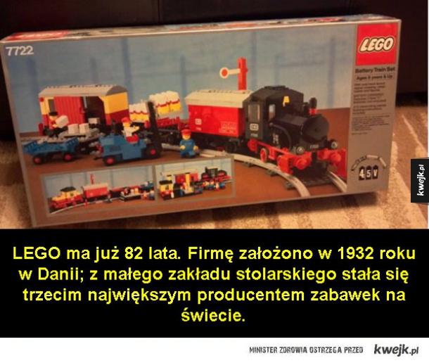 Ciekawostki o LEGO