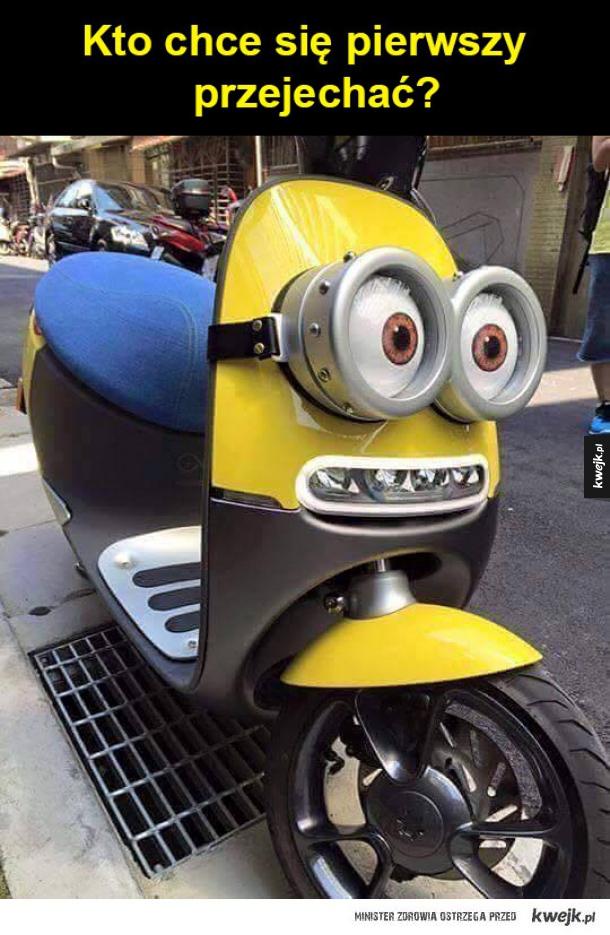 Minionus skuterus
